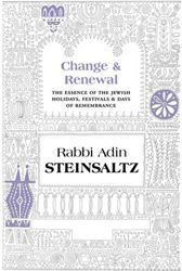 The incredibly erudite R. Steinsaltz's latest contribution to Jewish thought is a compendium of essays that focus on the inherent personal, spiritual meanings of Jewish celebrations and commemorations throughout the year.