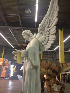 Grand Cathedral Angel Sculpture -2013 Warehouse Sale Set up