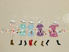 Shuffle Back in Line by Estibaliz Hernandez