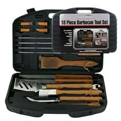 Mr. Bar-B-Q 18-Piece Grilling Tool Set