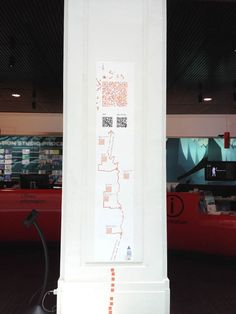 A QR code mapping system