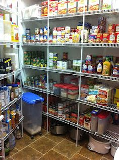 WOW, wished I had a pantry this large and this organized