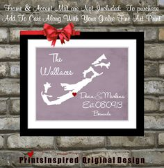 Hey, I found this really awesome Etsy listing at http://www.etsy.com/listing/160162944/custom-bermuda-wedding-gift-map-lavender Background, Tropical Weddings, Wedding Gifts