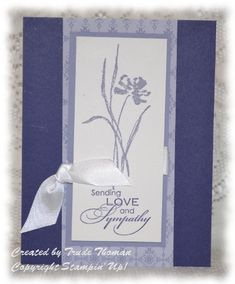 Stampin' Up! Love and Sympathy