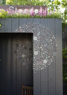 Love this Idea...It's done with Buttons...