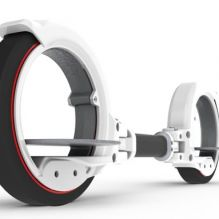 tron type skate-scooter