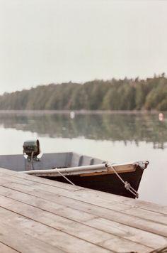 boat & dock...