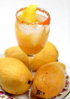 mango lemonade! #summerfoodie
