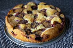 purple plum torte via smittenkitchen   this cake was so deliciously yummy, and somehow also the easiest cake I've ever made at the same time. I made it twice in one week, because it really was that easy, and that good.