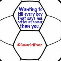 soccer girl problems - Google Search