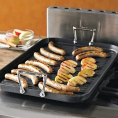 All-Clad Gourmet Double-Burner Grill   Williams-Sonoma