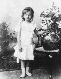 Grand Duchess Tatiana at about age 4 or 5.
