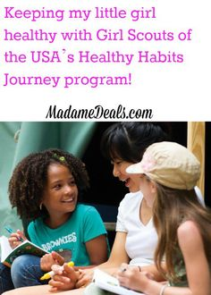 Keeping my little girl healthy with Girl Scouts of the USA's Healthy Habits Journey program! #Sponsored #HealthyHabits