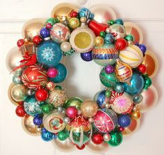 Vintage Ornament Wreath - Can you say GORGEOUS?