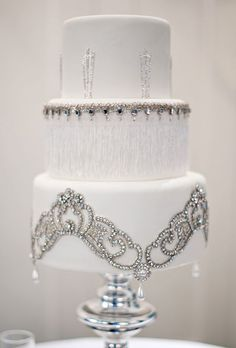 Beautiful blingy cake