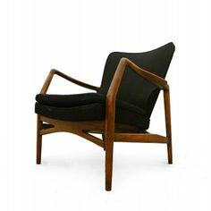 Kurt Olsen; Beech Easy Chair for A. Andersen & Bohm, 1951.