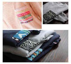 DIY Sweatshirt Pocket