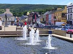 Bantry square in West Cork