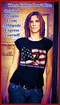 """These Colors Don't Run"" ~ A Patriotic Design From Affilipede ~"