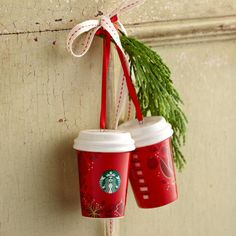 2013 Red Cup Ornament. $4.95 at StarbucksStore.com