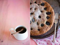 lovely! Tea Cup Tea: HAZELNUT BLACKBERRY TORTE WITH PUERH TEA