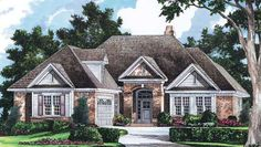 One story home plans from donald a gardner architects on Single gable roof house plans