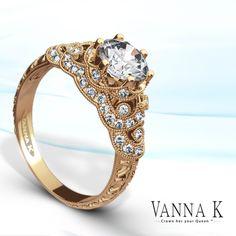 Pretty in Pink!  #VannaK #diamonds diamond