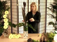 Flower Design - Front Facing - Arranging Plant Material 1