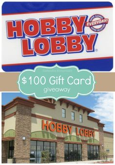 Craftaholics Anonymous® | Thankful for YOU Giveaway! {$100 Hobby Lobby Gift Card}