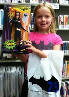 Waseca Public Library in Waseca, MN showing Girl power too!
