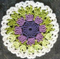 #251 Lavender  Spearmint Dishcloth – Maggie Weldon Maggies Crochet