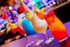 Bright Fruity Drinks