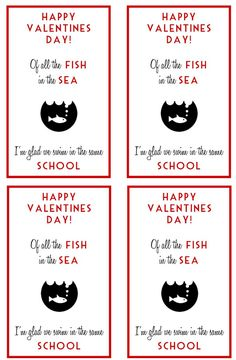 Be Different...Act Normal: 8 Goldfish Cracker Valentine Ideas