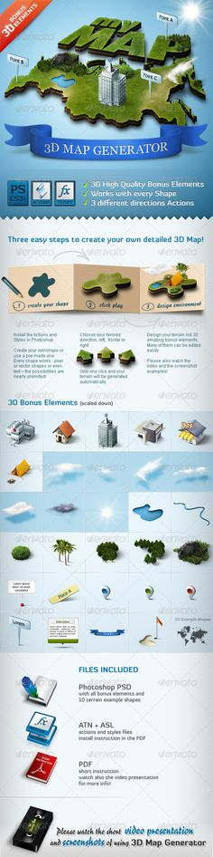 Add-ons - 3D Map Generator - Action   GraphicRiver