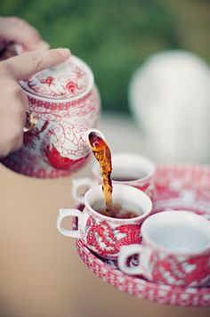 Tea time in pink