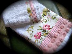 tea towel shabby