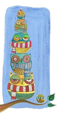 'Owls Cold' by Elena Catalán - no source website