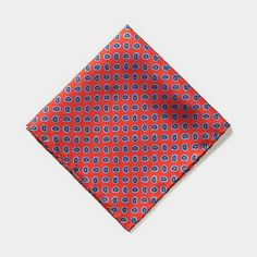 The Herald Square - Red Paisley #holiday #gifts #giftsforguys