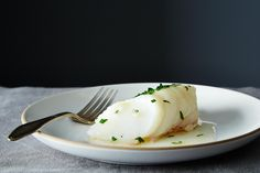 James Peterson's Baked Fish with Butter and Sherry