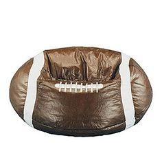 Kid's Sport Bean Bag - Football- American Furniture Alliance