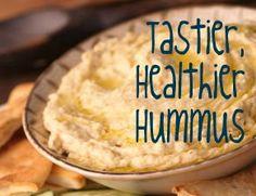11 Ways to Make Tastier, Healthier Hummus