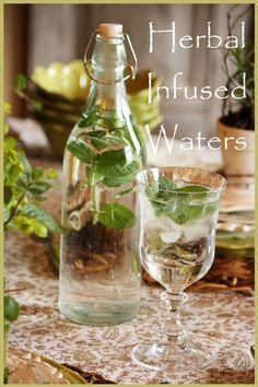 StoneGable: HERBAL INFUSED WATERS #herbs #herbalism #herbal