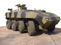 The Terrex AV81 armoured infantry fighting vehicle has a modular top deck which allows the vehicle configuration to be changed rapidly. - Image - Army Technology
