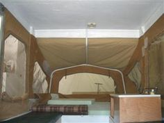 Painting a Popup Tent Camping Trailer