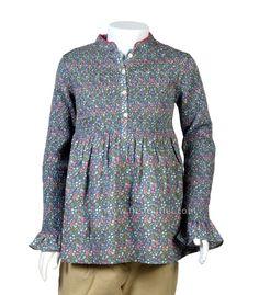 Camisa Gomas Colección Mini, Otoño Invierno 2014/2015