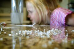 How to grow your own salt crystals-- definitely trying this with my babies.