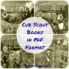 You can get Cub Scout handbooks online.  They're downloadable pdf files.