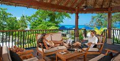Riviera Seaside treehouse at Sandals Grande Riviera in Ocho Rios, Jamaica