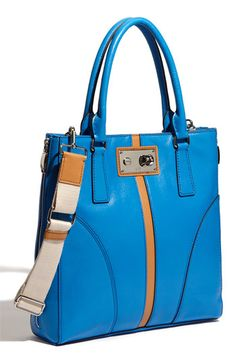 Milly Leather Tote.