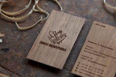 Zimmerei Pensold - Business Card Design